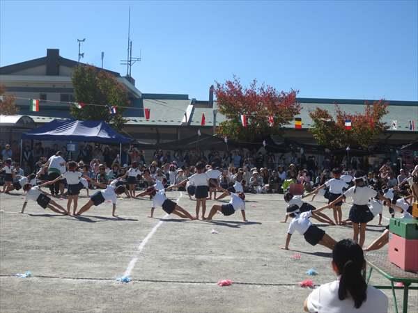 運動会⑧組体操